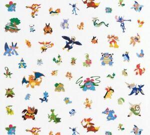Robert-Kaufman-Pokemon-AOPD-15971-205-White-Characters-Evolved-Cotton-Fabric