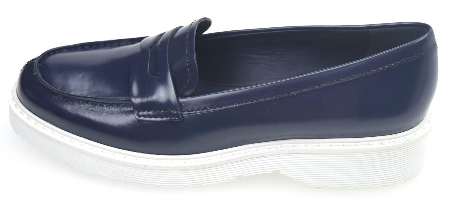 PRADA chaussures PLANOS MOCASÍN PARA femmes bleu BALTICO ART. ART. ART. 3D5944 7719b1