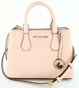 f3ad3f6f5e Image is loading Michael-Kors-Camille-Pastel-Pink-Top-Handle-Messenger-