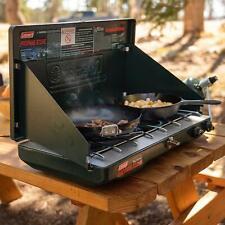 Cocina de 2 Quemadores de Gas Propano Gama de Encendido Templado Ideal Camping
