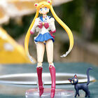 New In Box Sailor Moon Tsukino Usagi Action Figure S.H.Figuart Figma Doll Toy 6