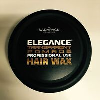 Sada Pack Elegance Transparent Pomade Hair Wax 4.9oz-new-free Shipping