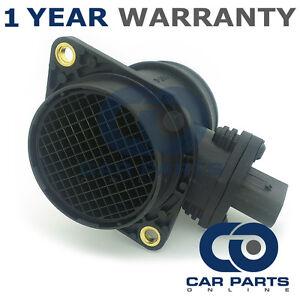 El sensor de masa de aire Medidor De Flujo Maf Afm 2005-2011 Ford Focus MK2 2.5 St Gasolina