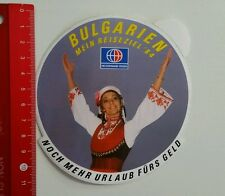 Aufkleber/Sticker: Neckermann Reisen - Bulgarien '84 (16041688)