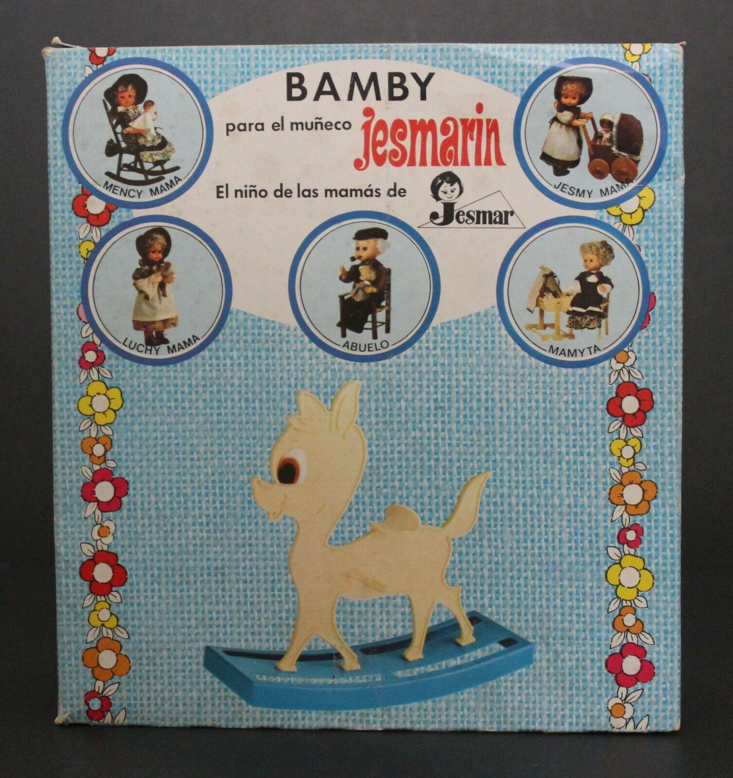 1970's Jesmar JESMARIN'S ROCKING BAMBY ACCESSORY brand new & unused VHTF