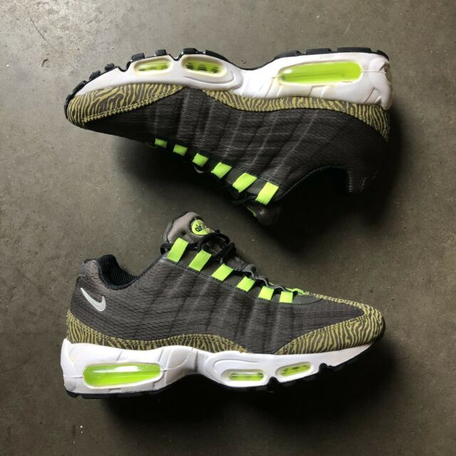 wide varieties official shop hot new products Mens Nike Air Max 95 Premium Tape Black-silver Sz 14 Reflective ...