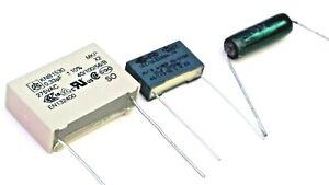 Thorens TD150  and TD160 Turntable Repair Kit 2 Capacitors & 1 Resistor
