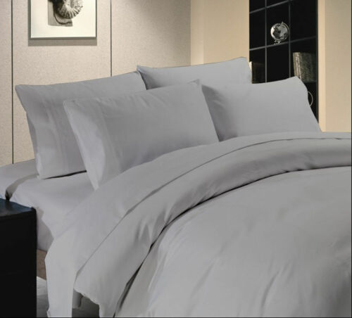 Superior Bedding 1200 Thread Count 4 PC Bed Sheet Set Solid Colors Select Size