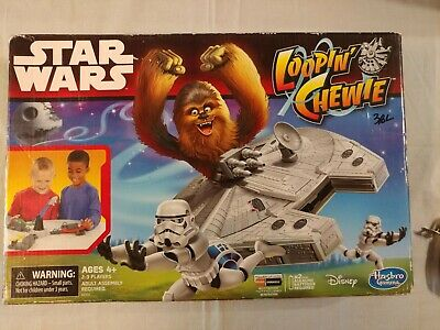 Star Wars Loopin/' Chewie Louie Kids Skill Action Board Game Complete Hasbro 2014