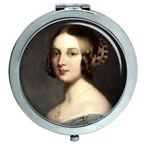 Junge Königin Victoria Kompakter Spiegel