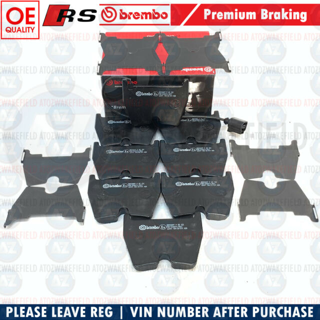 Pour Audi RS3 8V RSQ3 Ttrs Rs Q3 Tt Avant Brembo Frein OEM Set Plaquettes X8 Fr