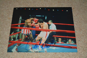 Carl-WEATHERS-Signed-Autograph-20x25-cm-In-Person-Rocky