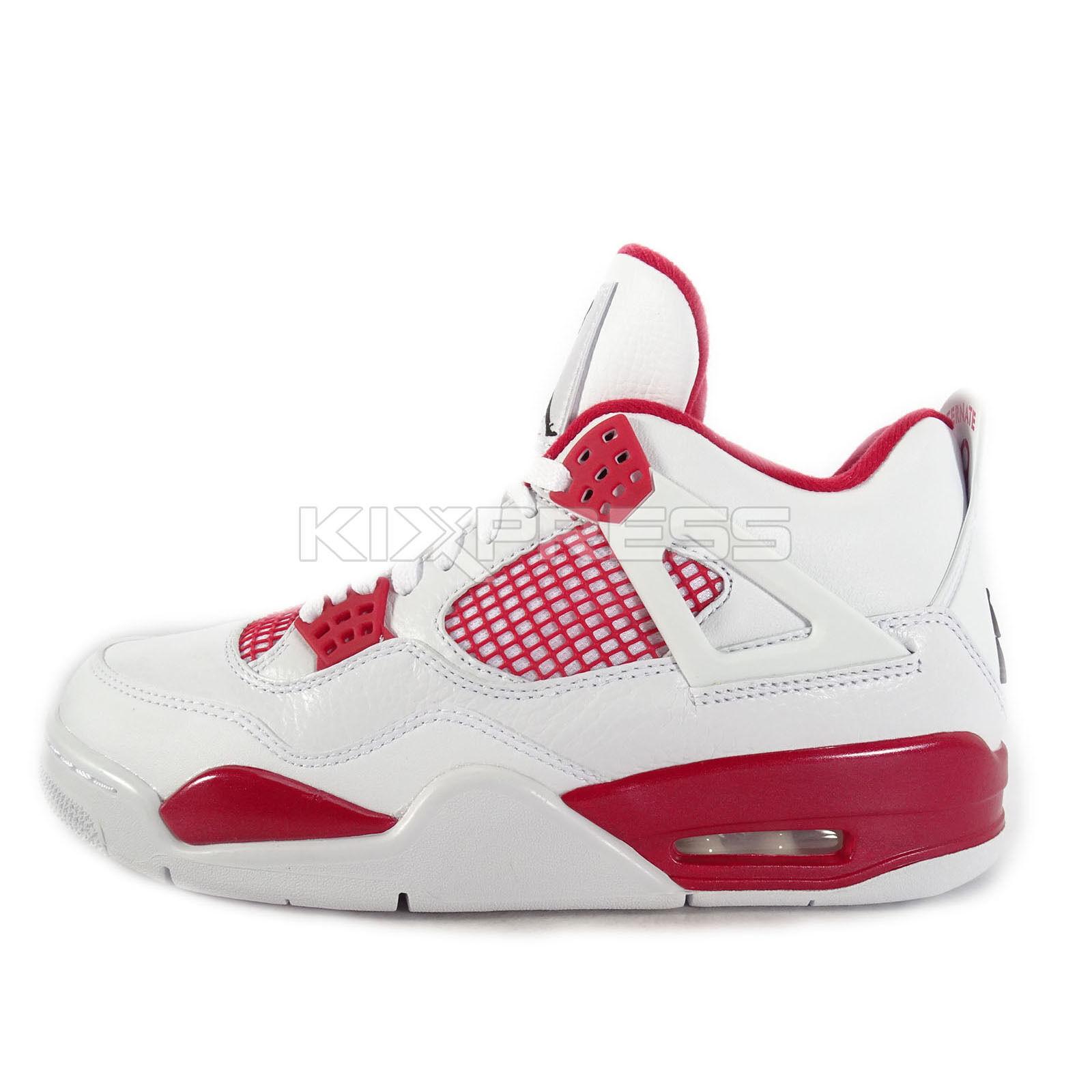 abd9d199cf2d7c best Nike Air Jordan 4 Retro  308497-106  Basketball Alternate 89 White  Black-Gym Red