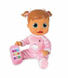Baby Wow Bavard Emma Electronic Interactive Doll Vocale Activée Talking Toy Set-afficher Le Titre D'origine Marchandises De Proximité