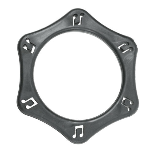 4pcs Hexagonal Anti-Roll /& Slip Shock Protection Ring for Handheld Wireless Mic