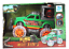 Dinosaurio-Hauler-Monster-Truck-Con-Jaula-luz-y-musica-Jurassic-Off-Road-Coche-de-juguete miniatura 3