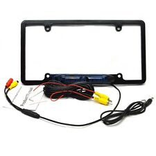 Waterproof 170°  Car License Plate Frame Rear View Night Vision Camera EU