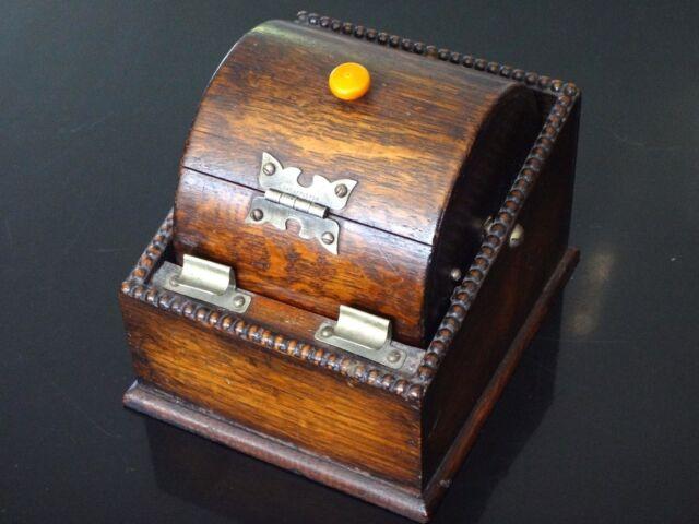 Originale boite cigarette Art déco  pat apple for bakelite box tobacco curious