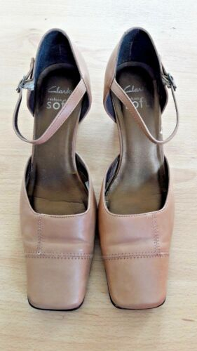 Leather From Heels Cushion Soft Light Gorgeous Tan Size Ankle Strap 5 Clarks 08wUEq
