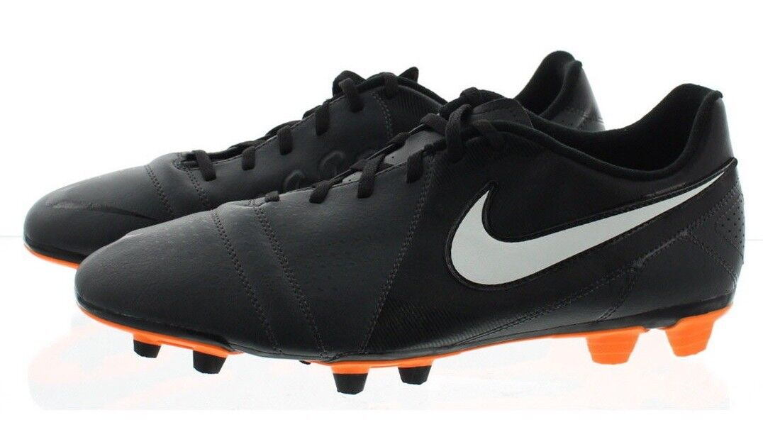 Nike 525173 Men's CTR360 Enganche III FG Low Top Soccer Cleats Shoes Black best-selling model of the brand