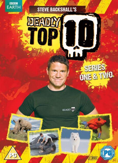 Steve Backshall's Deadly Top 10: Series 1 and 2 (Box Set) [DVD]