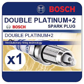 Convient NISSAN MICRA CC 1.6i 108BHP 05-11 BOSCH DOUBLE PLATINE Spark Plug VR7SPP33
