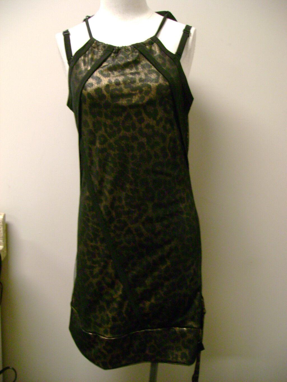 Christian Audigier Ed Hardy Leopard Dress  NWT