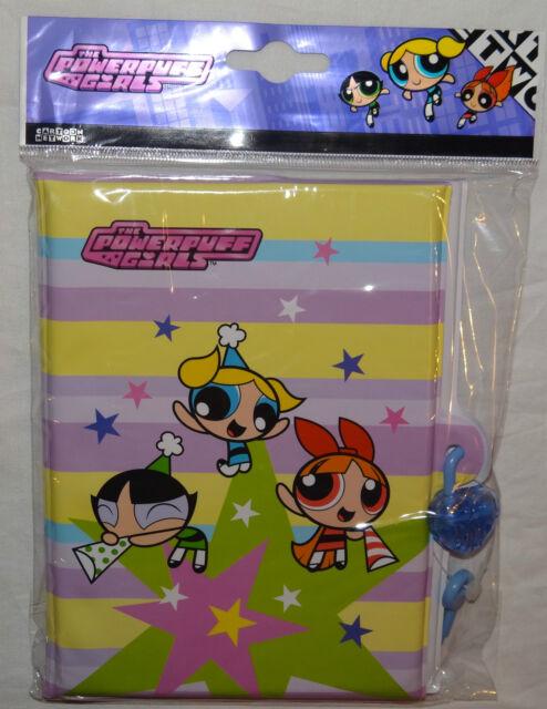 POWER PUFF GIRLS~3-PLASTIC  PENCILS BUBBLES,BUTTERCUP,BLOSSOM,BLUE,PINK,GREEN