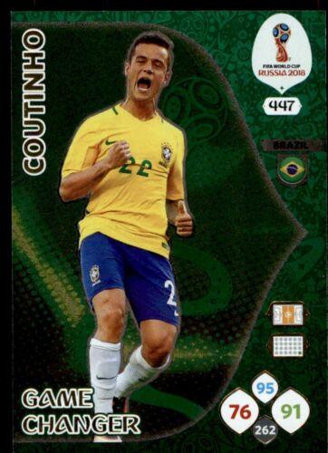 Panini WORLD CUP 2018 ADRENALYN XL-Philippe Coutinho Cambiador de juego de Brasil #447