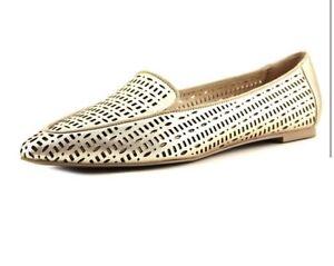 ead4ac56220 NEW Franco Sarto Soho Flat Ballet GOLD Size 7.5 NIB Shoes Mocs ...