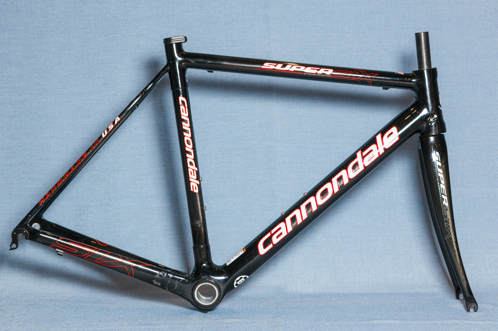 CANNONDALE Super Six Road Carbon Frame Set Größe 54cm