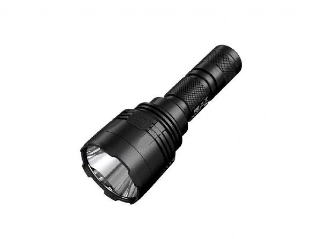 Nitecore p30 linterna outdoorlampe luz LED 618m alcance luz estroboscópica tan