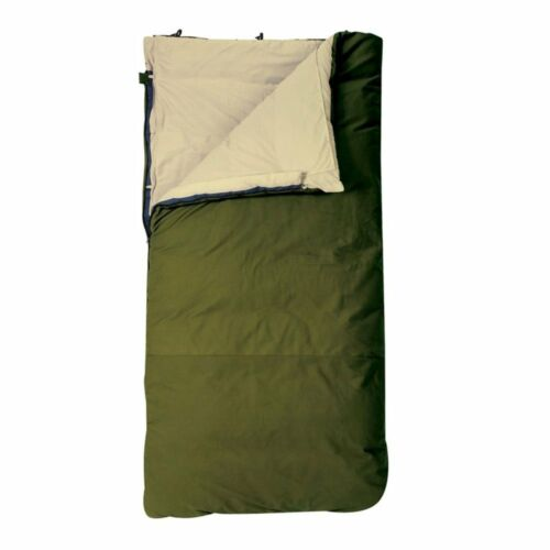 Slumberjack Contry Squire 12 Ounce Cotton Duck Insulated Sleeping Bag Green