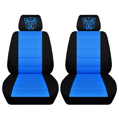 Amazing Fits 2015 Chevrolet Trax Ltd Black And Light Blue Seat Covers With Autobot Abf Ebay Ibusinesslaw Wood Chair Design Ideas Ibusinesslaworg