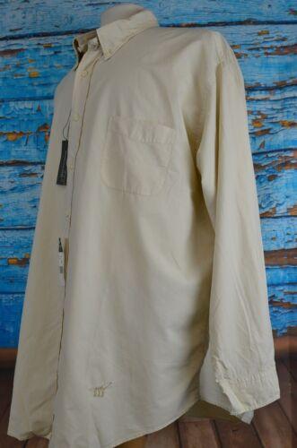 NEW Henry Cottons Men/'s Shirt Size XXL Button Up Cotton Blend Tan 2 XL Fishing