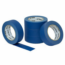 5 Pack 15 36mm X 60yd Stikk Blue Painters Masking Tape 14 Day Easy Removal