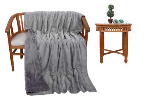Betz Luxus Kuscheldecke Wohndecke XXL MAILAND Größe 150 cm x 200 cm
