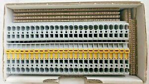 *NEW* Allen-Bradley 1492-LKD3 Knife Disconnect Terminal Blocks *LOT OF 25*