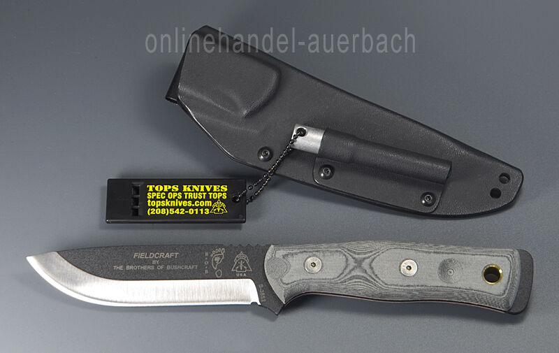 TOPS KNIVES B.O.B. THE BROTHERS OF BUSHCRAFT  Messer    Outdoor  Survival 74b391