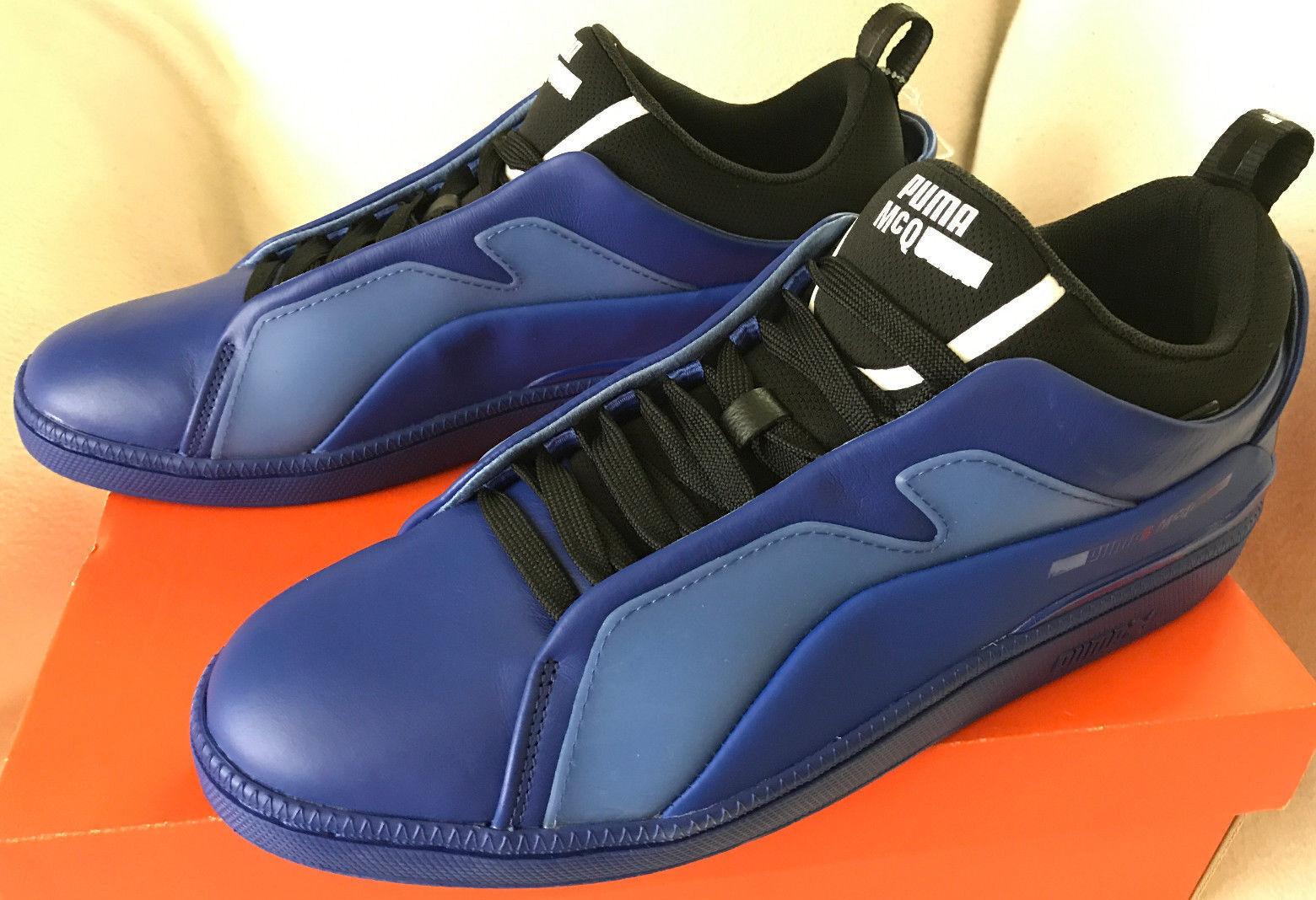 PUMA MCQ Brace Lo 361319-02 Alexander McQueen Surf Black bluee shoes Men's 9 New