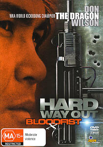 Bloodfist-8-DVD-Trained-to-Kill-1996-Hard-Way-Out-DON-WILSON-Rare-Movie-ALL