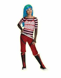 Monster-High-Ghoulia-Yelps-Girls-Costume-Size-10-12-Halloween-Outfit-NEW
