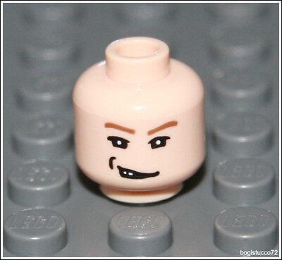Lego Indiana Jones x1 Light Flesh Head Smirk Harry Potter 5378 Minifigure NEW