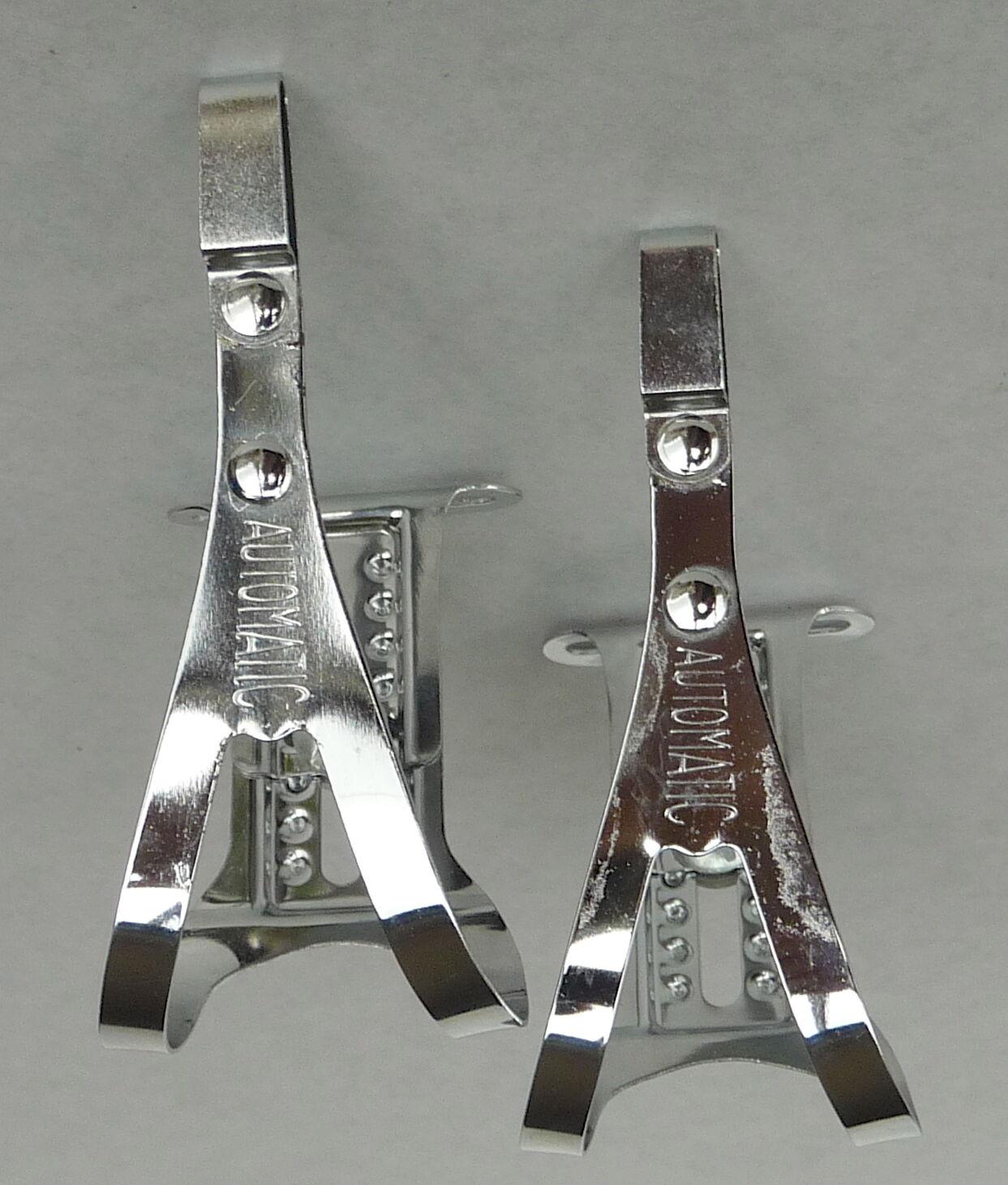 Paturaud Toe Clips for Herse Adjustable Vintage Bke Randonneur for  Singer NOS  perfect