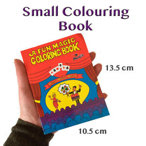 Details about Small Colouring Book Magic Trick   10.5 x 13.5 cm    Childrens/Kids Easy Magic