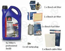 Audi A1 2.0 TDi Diesel 11-16 Air /& Oil Filter Service Kit s3aa
