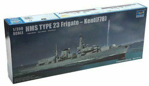 HMS TYPE 23 FRIGATE KENT F78 Trumpeter Kit TR 04544