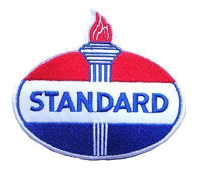 Amoco Skilful Manufacture Standard Öl Aufnäher Americana Verkauf Dienstzeit Bahnhof Benzin Automobilia
