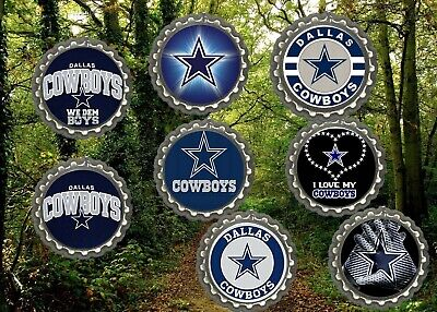 Dallas Cowboys Refrigerator Magnets Lot Of 8 Cool Collectibles Man Cave Ebay