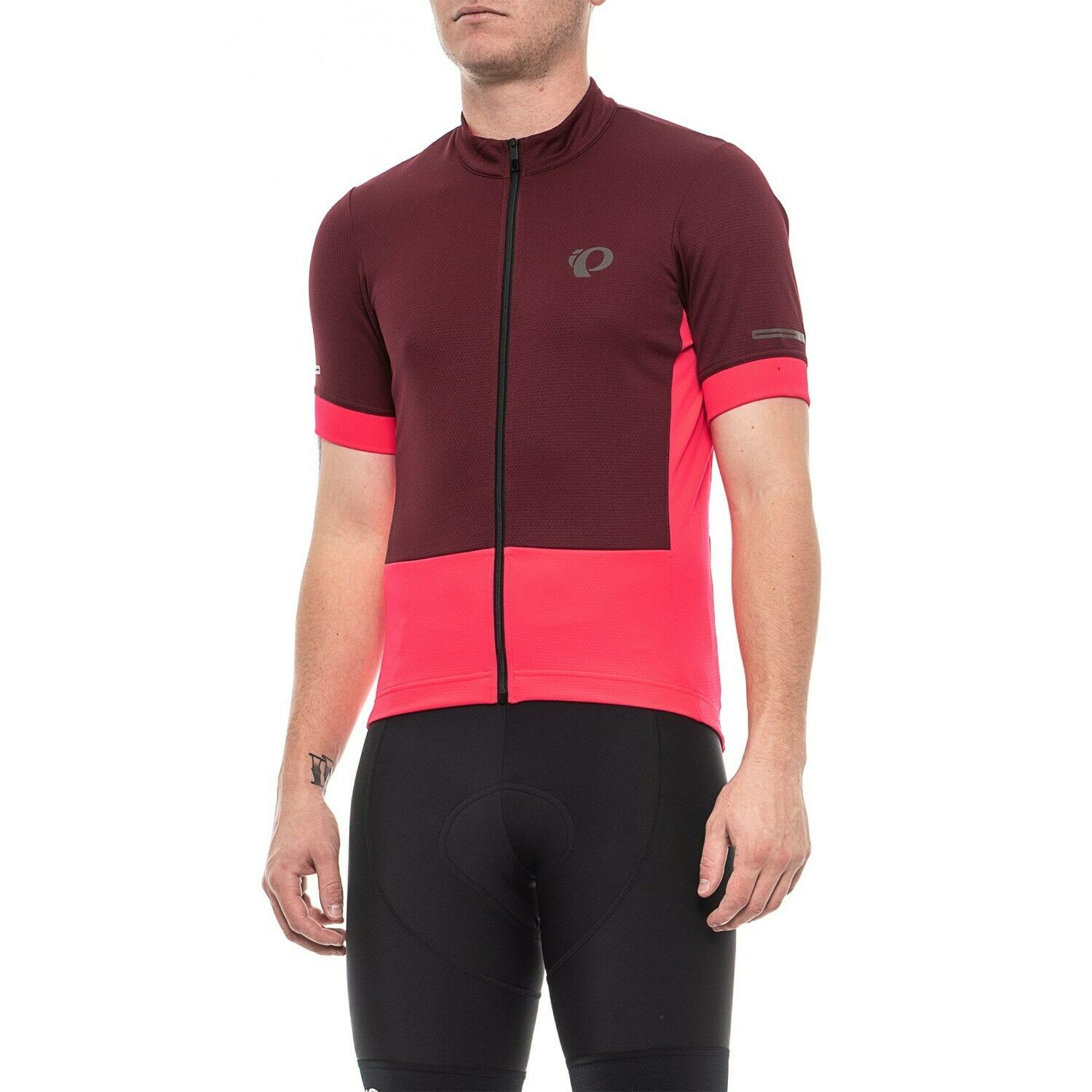 Port//Atomic Red PEARL IZUMI Men/'s Elite Escape Cycling Jersey NWT SZ 2XL